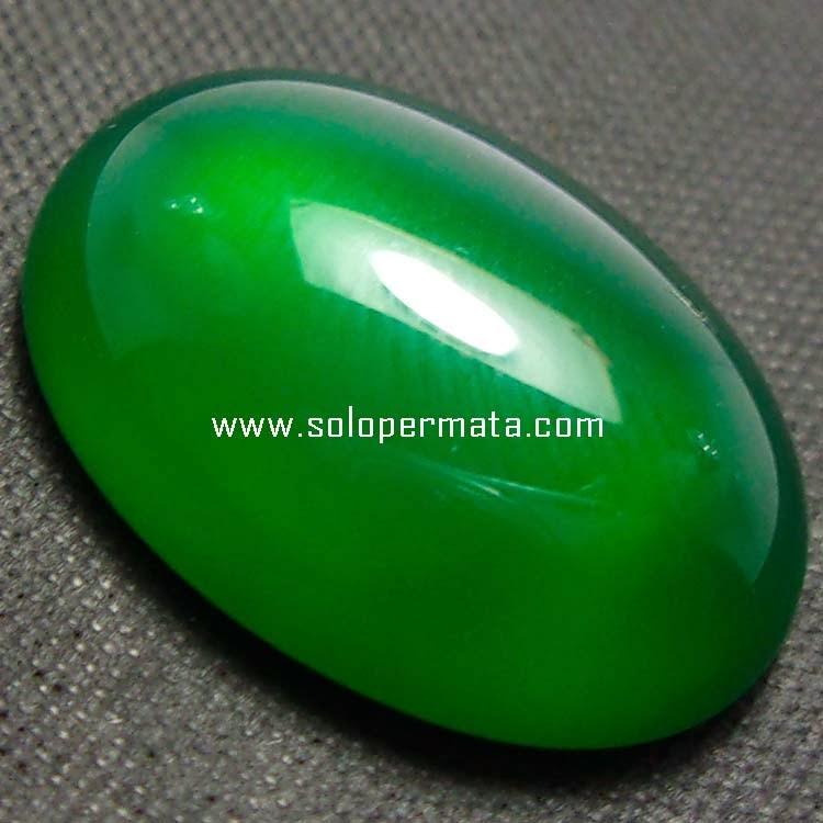 Batu Permata Green Calcedhony - 06B09