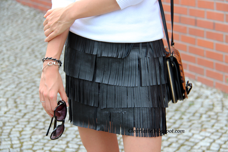 leather skirt zara