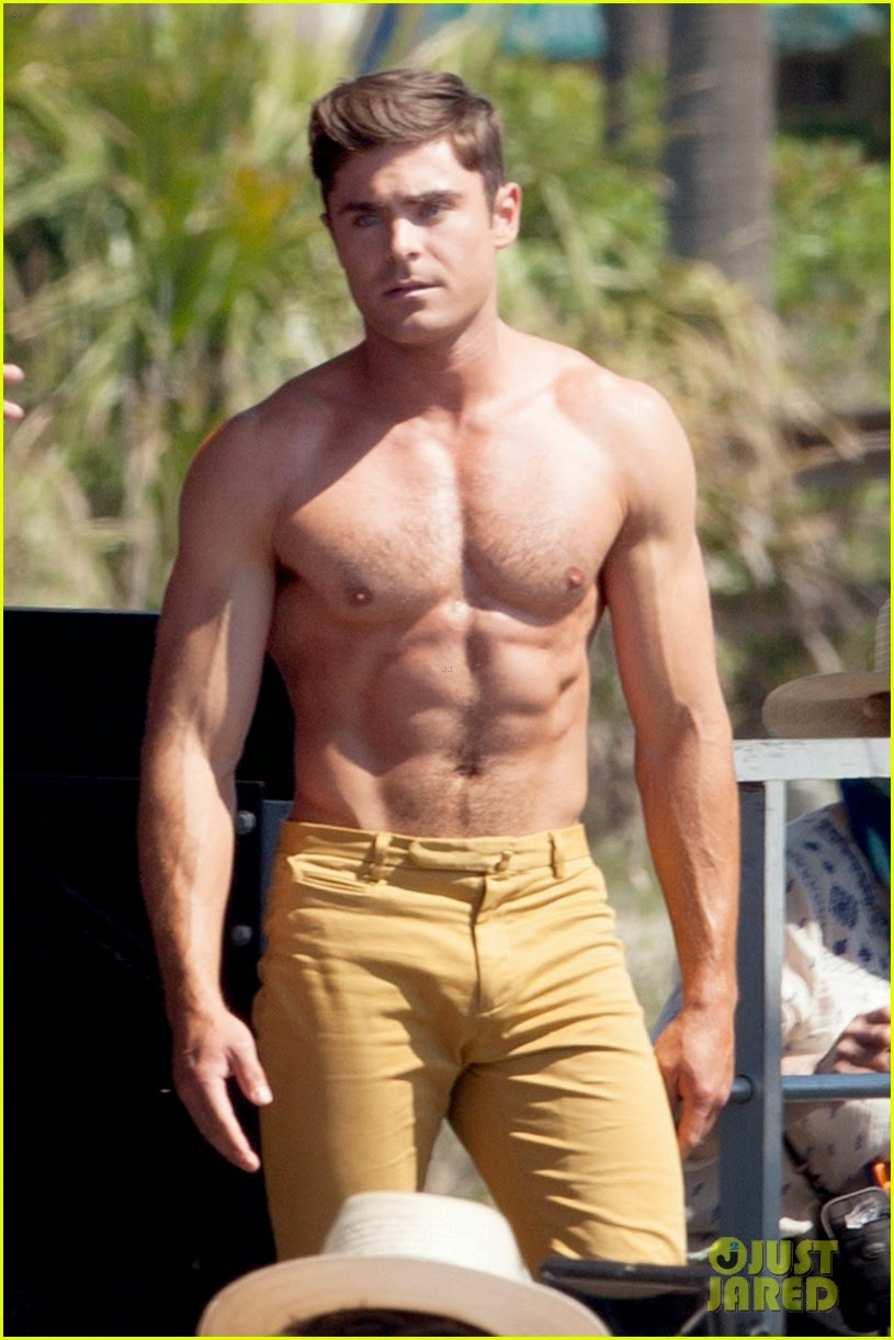 Zac efron puts his ridiculous abs on display for new movie altavistaventures Gallery