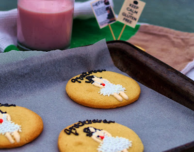 theGFCookie, frocktober 2013, iconic dresses, cookies