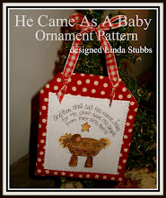 He Came As A Baby Ornament E-Pattern