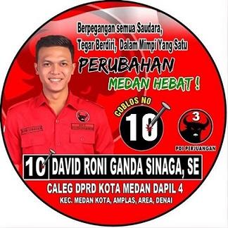 David Roni Ganda Sinaga SE