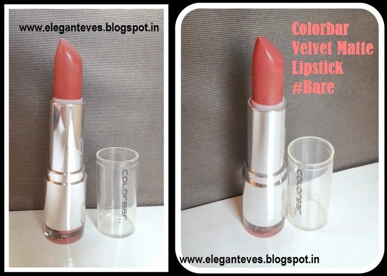 Colorbar Velvet Matte Lipstick #Bare