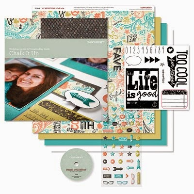 CHALK IT UP SCRAPBOOKING KIT