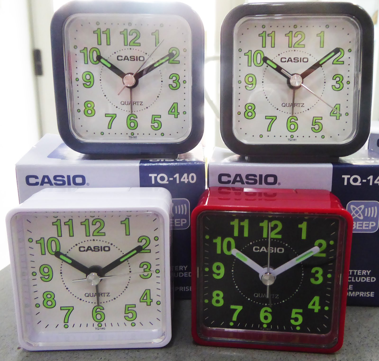 Despertadores Casio