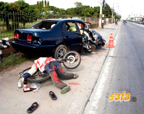 自転車の 自転車の事故 : Accident Fatal Picture Victim Car Crash