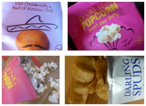 Yorkshire Blog, Mummy Blogging, Parent Blog, Darling Spuds, Popcorn, Crisps, Review,