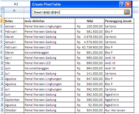 pivot table excel 2007 tutorial pdf