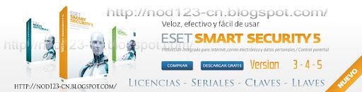 Antivirus ESET NOD32 - Llaves - Claves - Seriales Actualizadas a Diario !!!