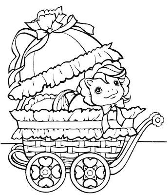desenhos de Pônei para imprimir e colorir
