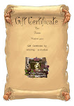 Give a Personalized Gift Certificate