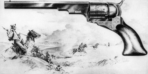 Colt Revolver Drawing Drawing Courtesy of Colt 39 s