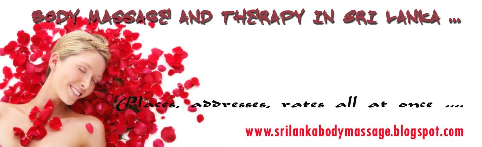 Sri Lanka Body Massage