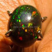 Batu Permata Black Opal Kalimaya Eutopia - SP837