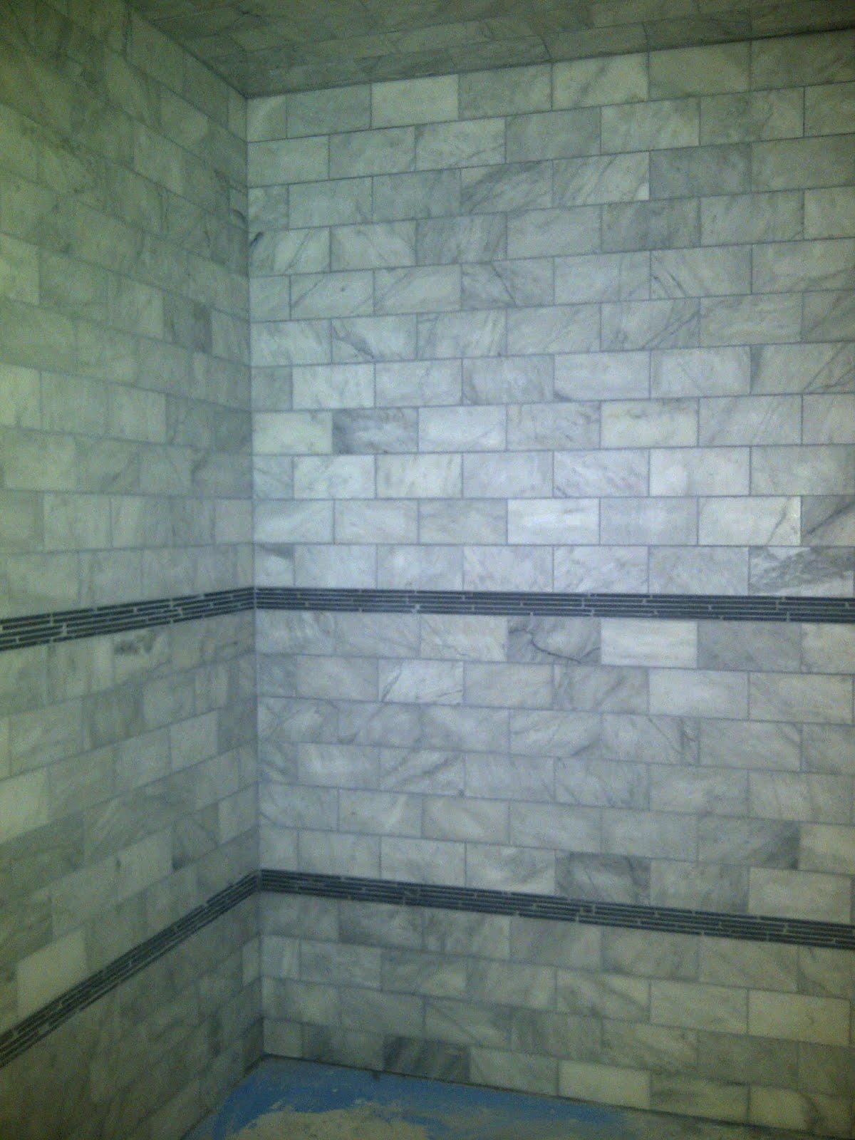 Space & Time Design: Shower Tile