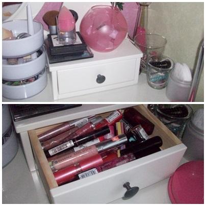 jule 39 s leben 39 gedanken schminktisch schmink aufbewahrung. Black Bedroom Furniture Sets. Home Design Ideas