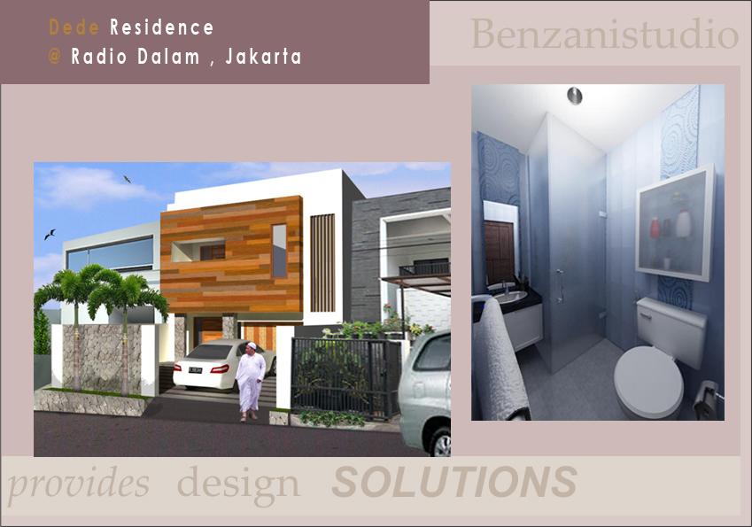 Interior Design Studio Apartment Jakarta
