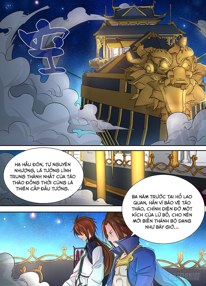 Thiên Cơ Tam Quốc chap 6 - Trang 4