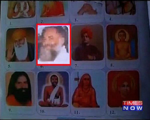 A controversy erupted on Sunday after media reported that disgraced godman Asaram Bapu has been listed among India's famous saints in a third standard text book in Jodhpur.