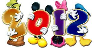 Boas vindas a 2012 com a Disney