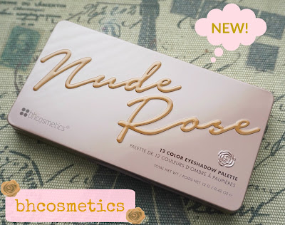 bh Cosmetics Nude Rose- 12 Color Eyeshadow Palette
