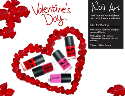 Color Studio Valentine's Day Nail Art Contest