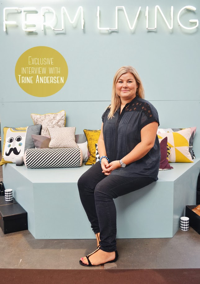 Interview With :    Trine Andersen, Founder Of ferm LIVING
