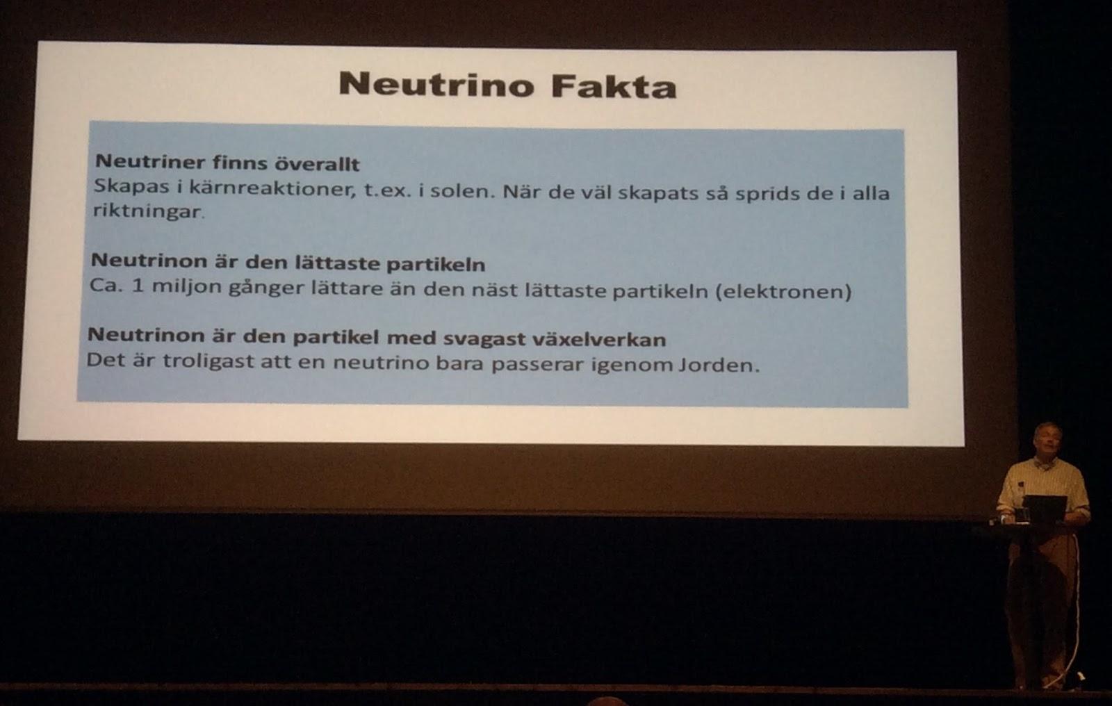 forskning omkring neutrinoer