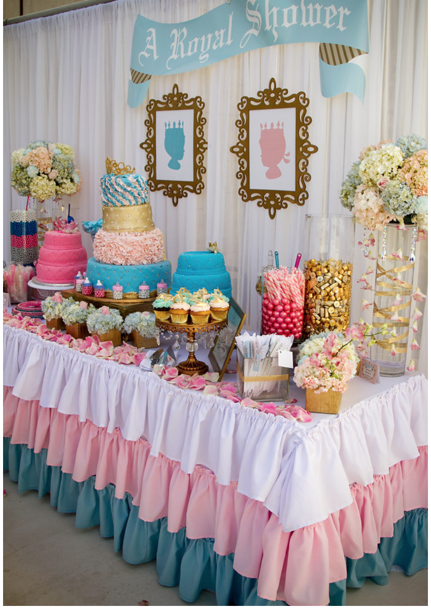 Kaki west official blog baby shower details for Baby shower decoration blog