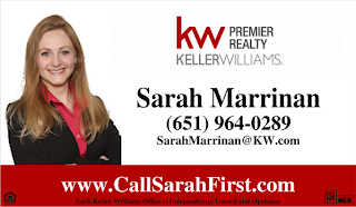 Sarah Marrinan - Keller Williams - www.CallSarahFirst.com