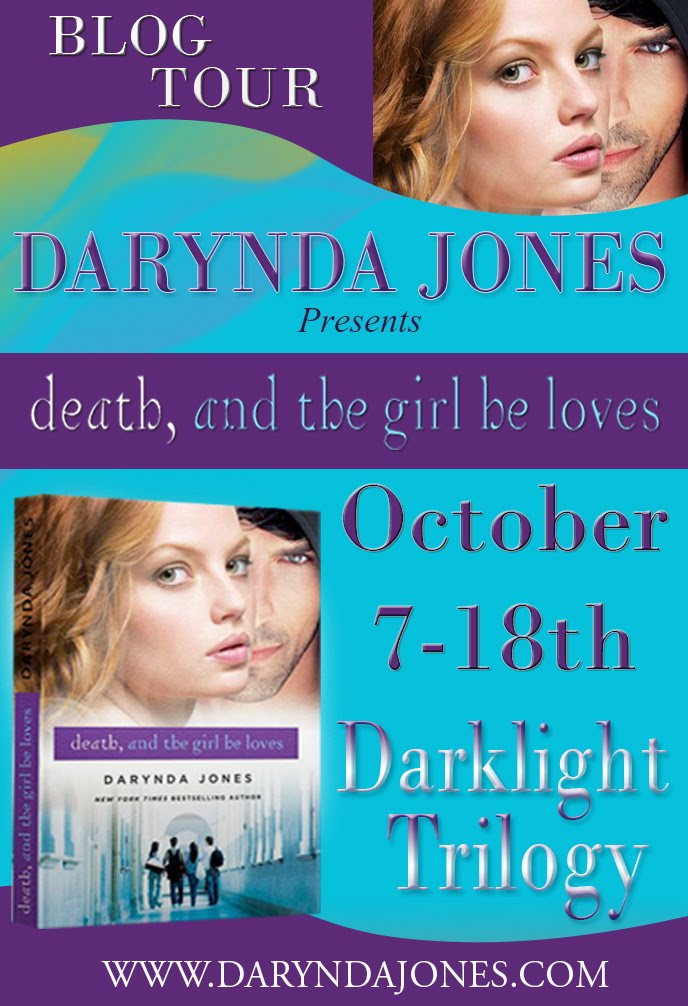 Death, and the Girl He Loves (Darklight #3)