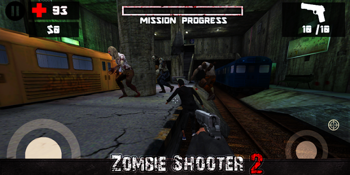 Zombie Shooter 2 Gameplay