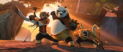 "On ""Kung Fu Panda 2"""