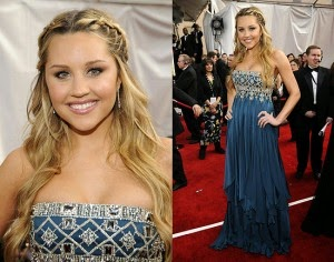 Amanda Bynes Braided Hairstyle How To do