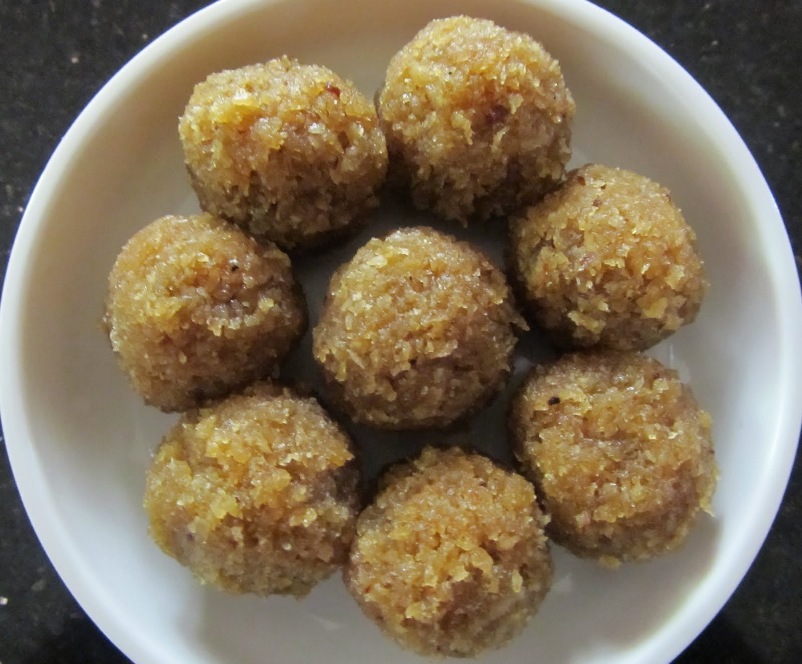 Coconut Laddu with Microwave