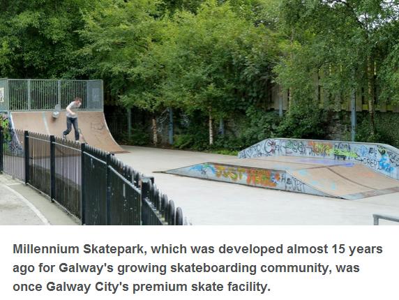 Millennium Skatepark in Galway City Petition