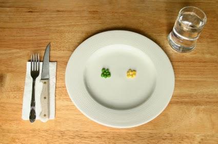 Principais sintomas em pessoas com anorexia