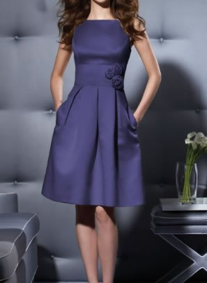 Navy Blue Dress on Dessy Cocktail Bridesmaid Navy Blue Dress Jpg