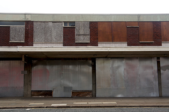 urban decay, town centre decline, shops closed, contemporary, photography, urban photography,