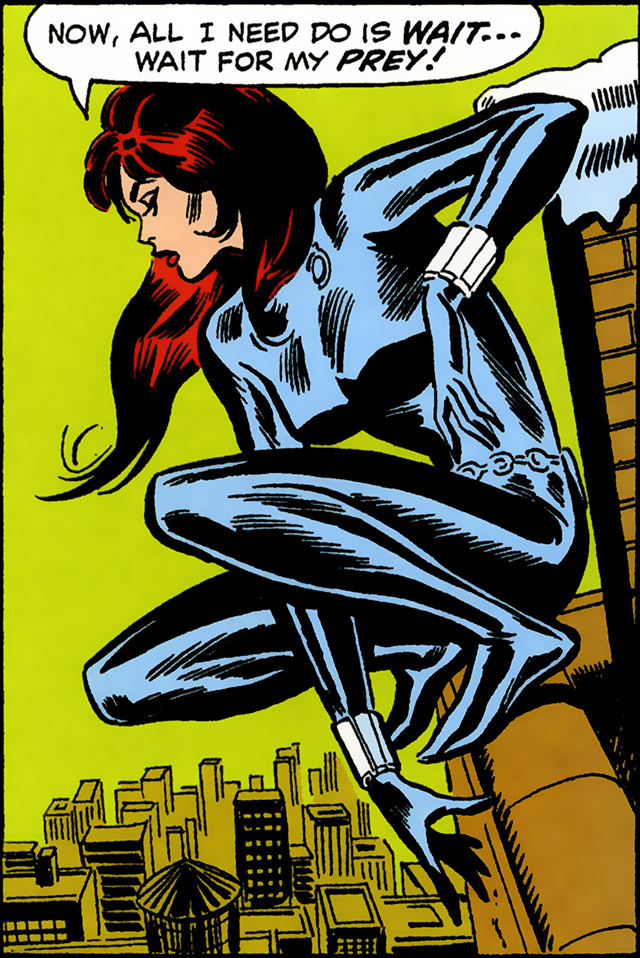 black widow comic book original