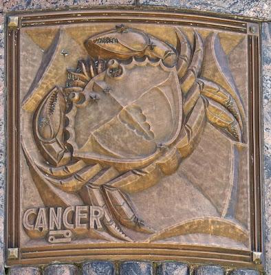 Escultura Cancer en Bronce