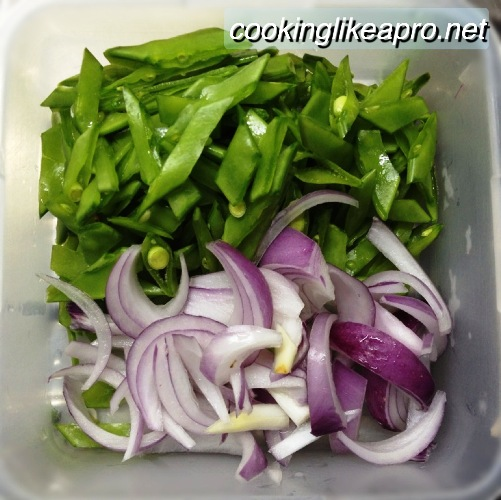 Cooking Lumpiang Hubad (Togue Recipe)