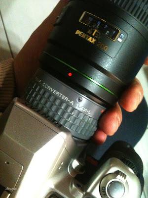 1.4X-L 也可以用在DA*200沒問題 (不過L系列加倍鏡比較適合搭配300mm以上的超望遠焦距鏡頭)