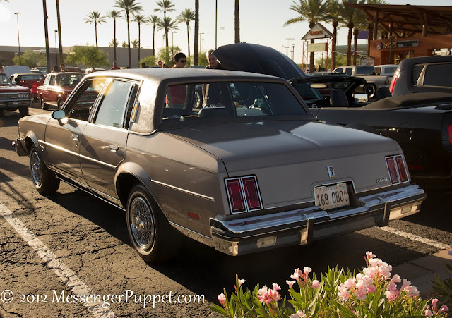 Oldsmobile Cutlass rear