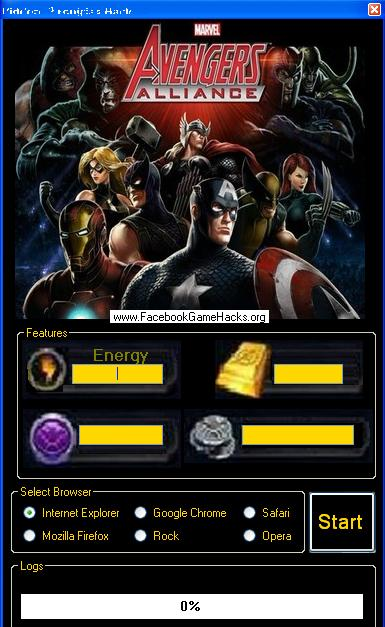 Marvel: Avengers and Alliance Hack + God Mode