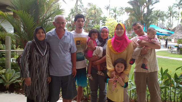 Family weekend holiday