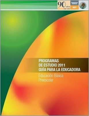 Programa de Estudios 2011 para Preescolar