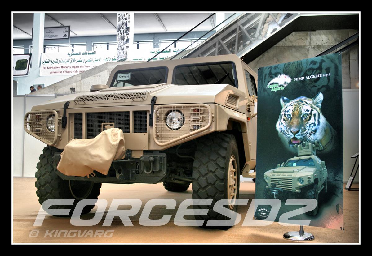 الصناعة العسكرية الجزائرية عربات Nimr(نمر)  Nimr+1
