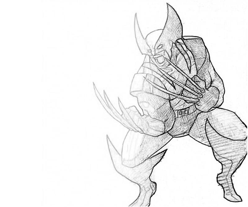 printable-marvel-vs-capcom-wolverine_coloring-pages