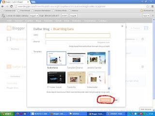 Cara Membuat Blog Gratis di Blogspot / Blogger